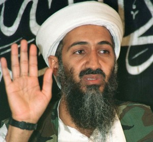 Does Bin-Laden worry about whether he put enough money in the meter?