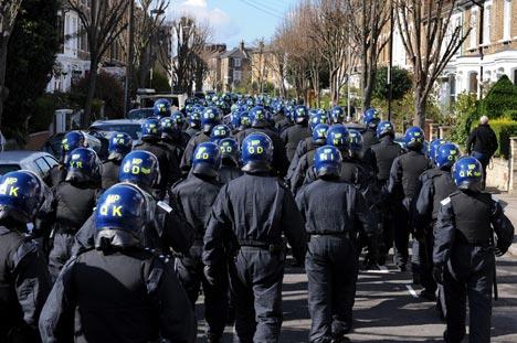 Фанов будут охранять 600 милиционеров